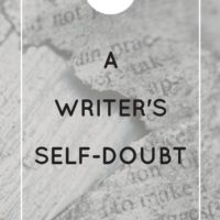A Writer's Self-Doubt