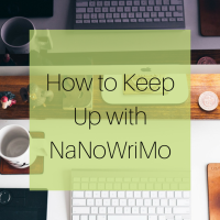 How to Keep Up with NaNoWriMo