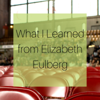 What I Learned from Elizabeth Eulberg